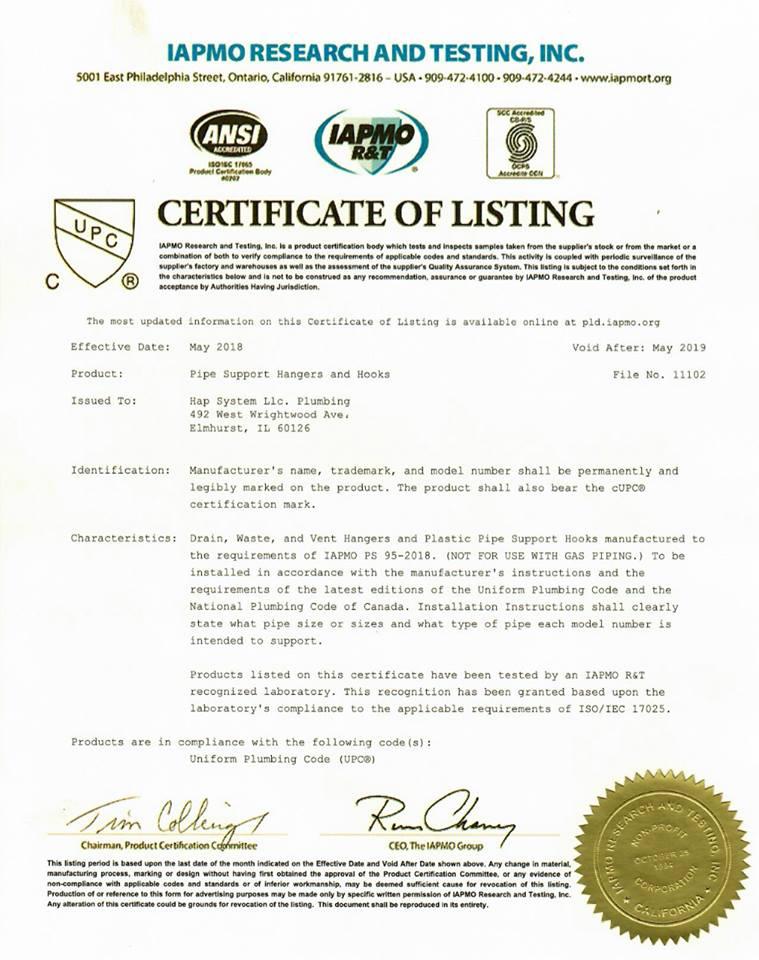 International Association of Plumbing and Mechanical Officials ...